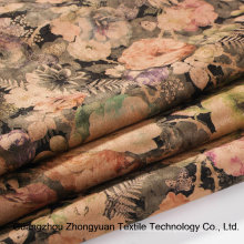 Fashion Printing Suede Fabrics for Garment